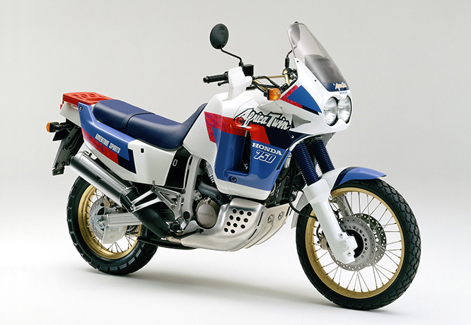 ТОП 10: Old School Adventure Bikes