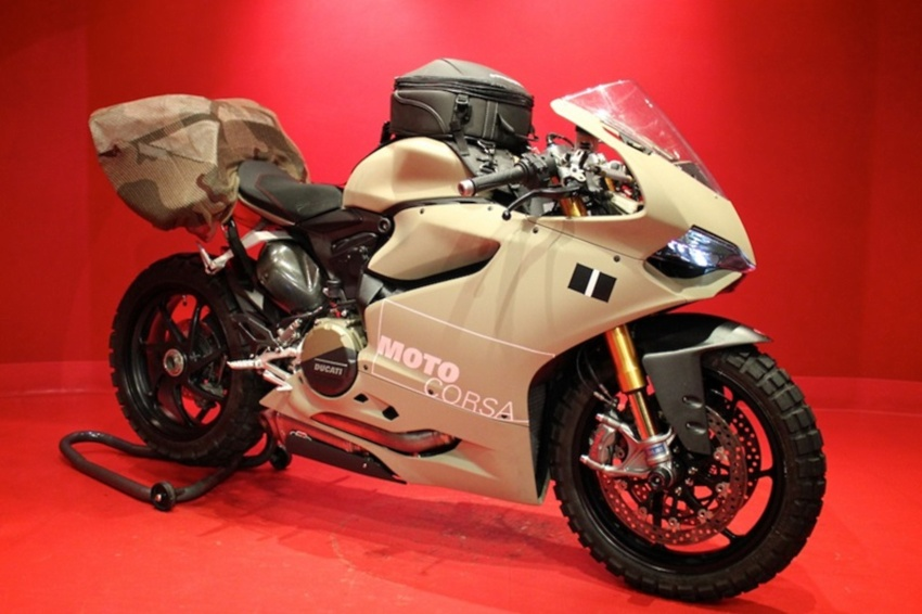 Ducati 1199 Panigale off-road edition.